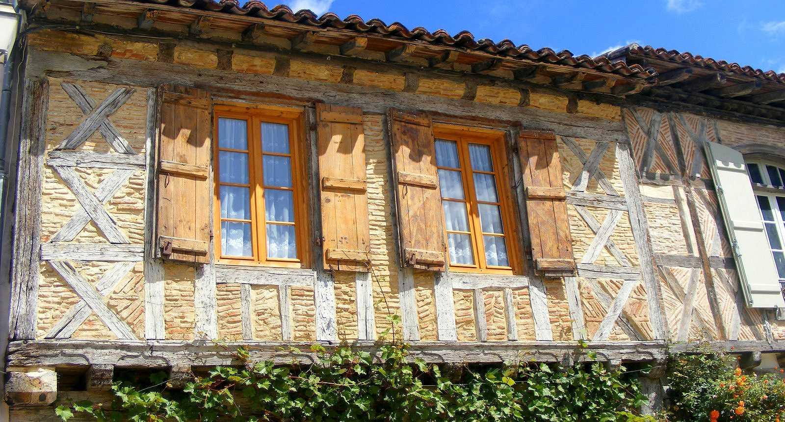 Façade de La Bastide D'Armagnac