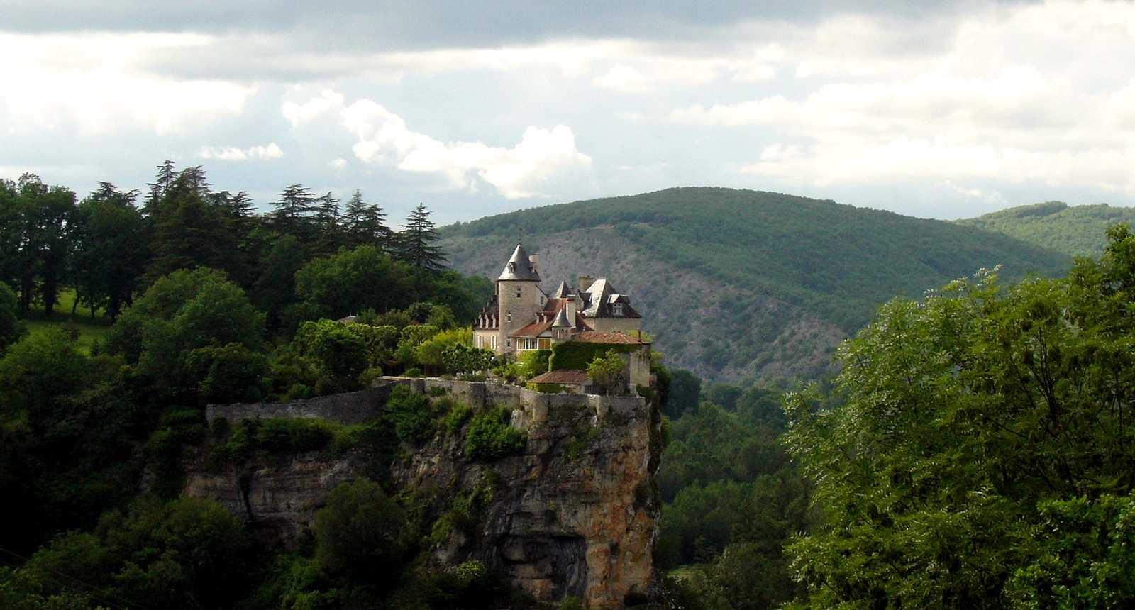 Le Château perché de Belcastel