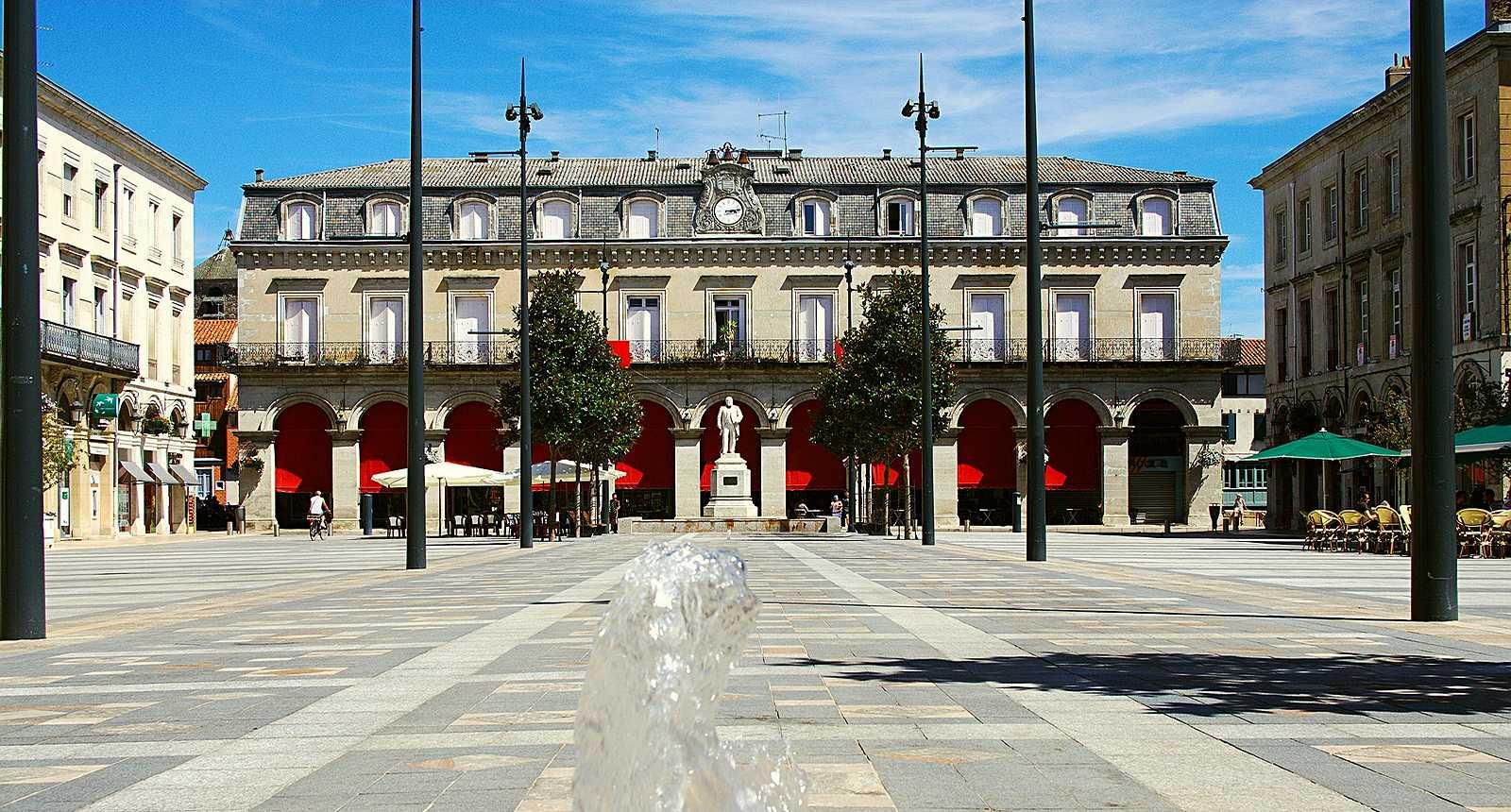 La Place Jean Jaurès de Castres