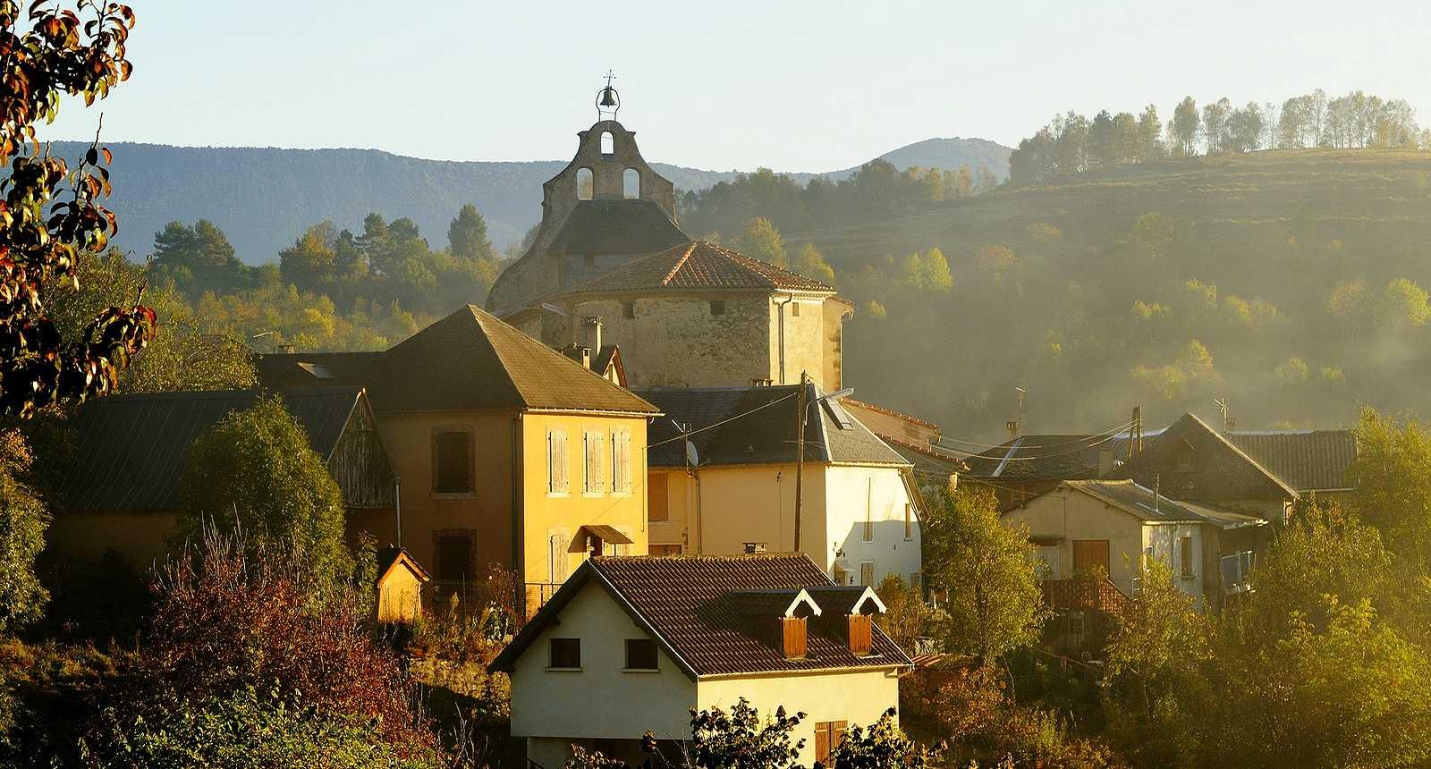 Le village pyrénéen de Seix