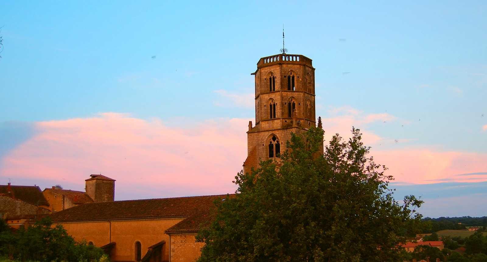 L'église Saint-Michel de Mauvezin