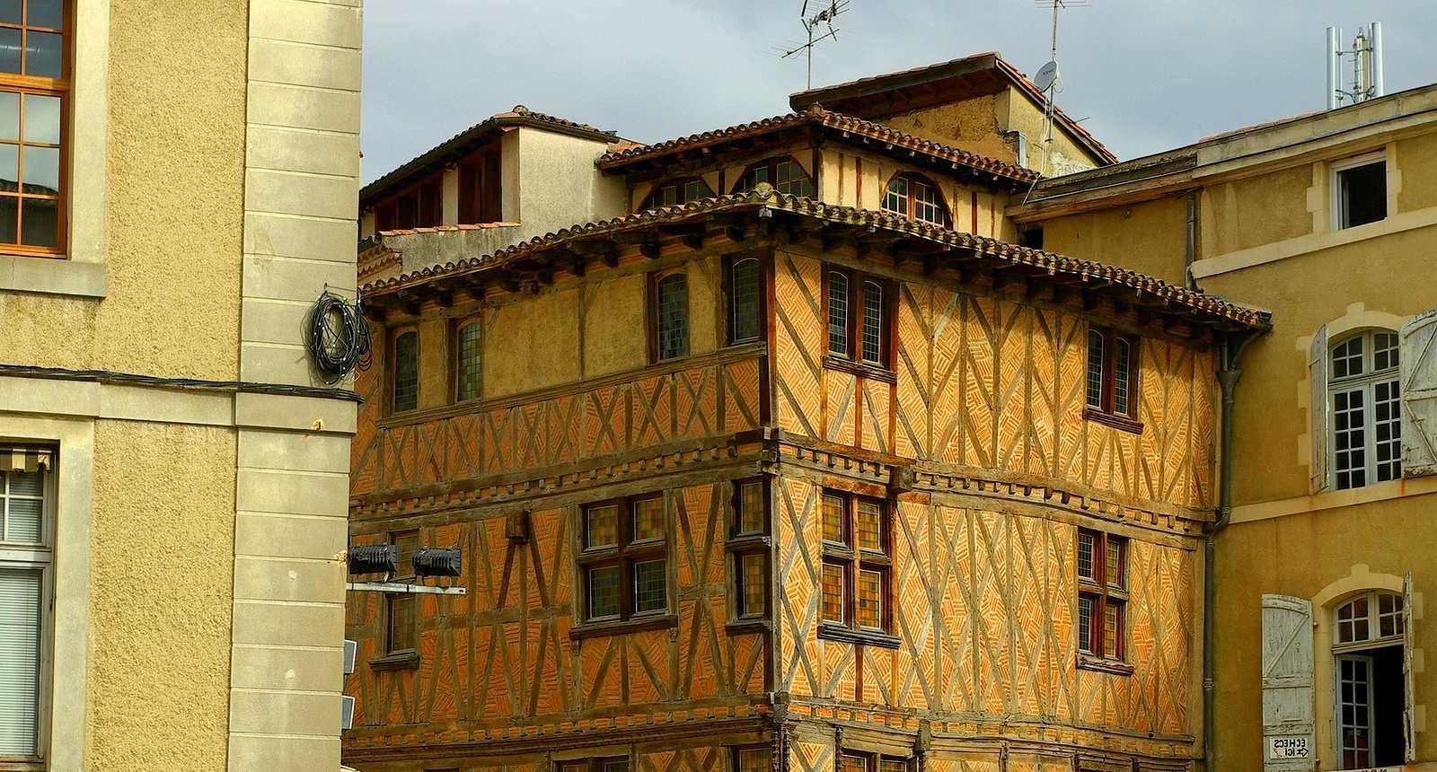 Maison typique d'Auch