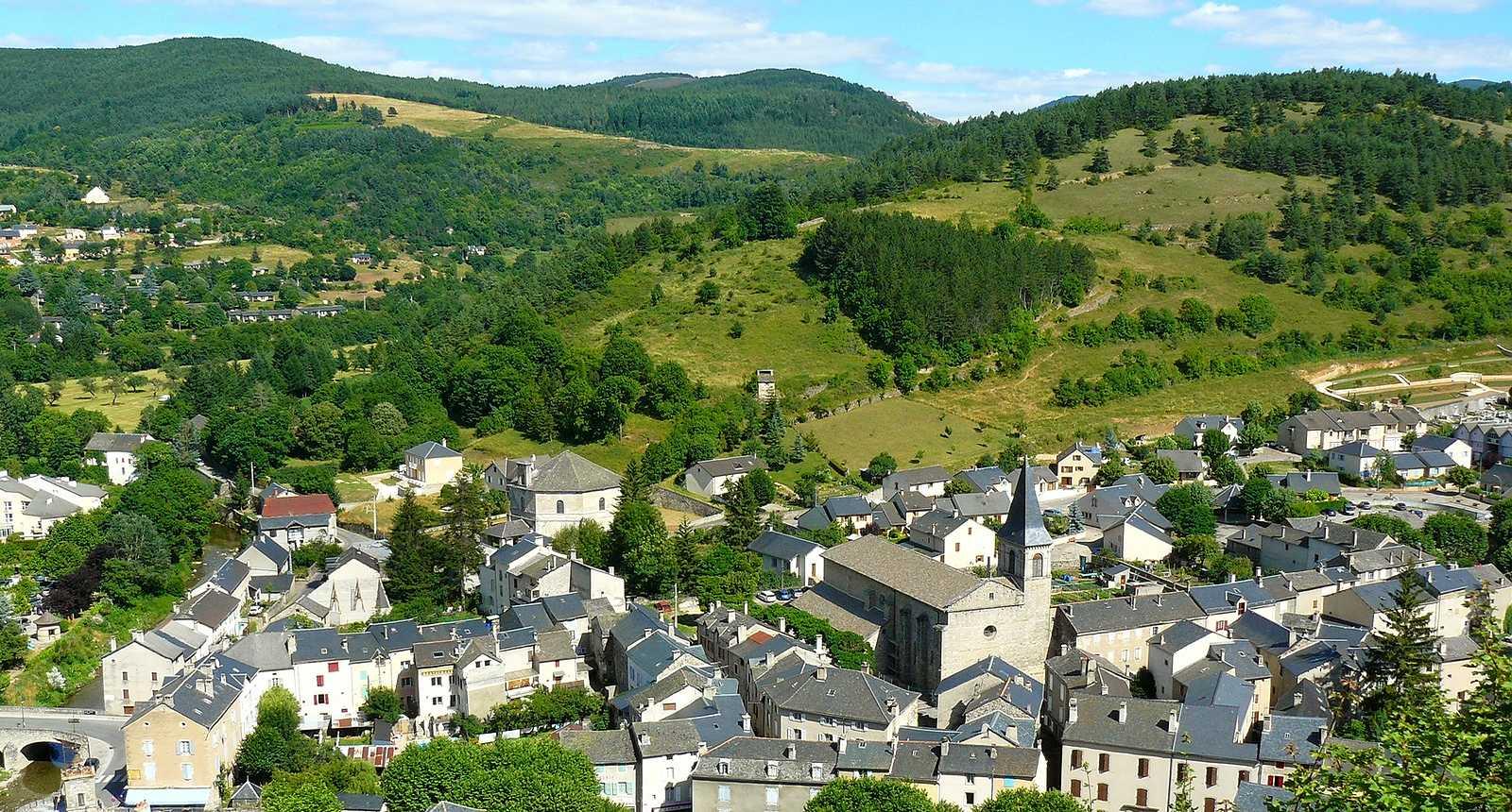 La ville de Meyrueis