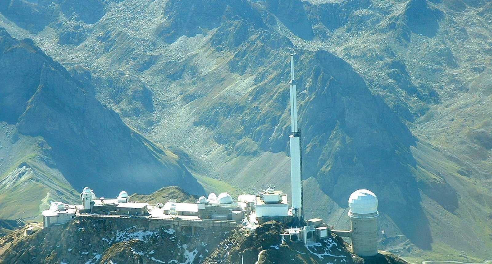 Le sommet du Pic du Midi de Bigorre