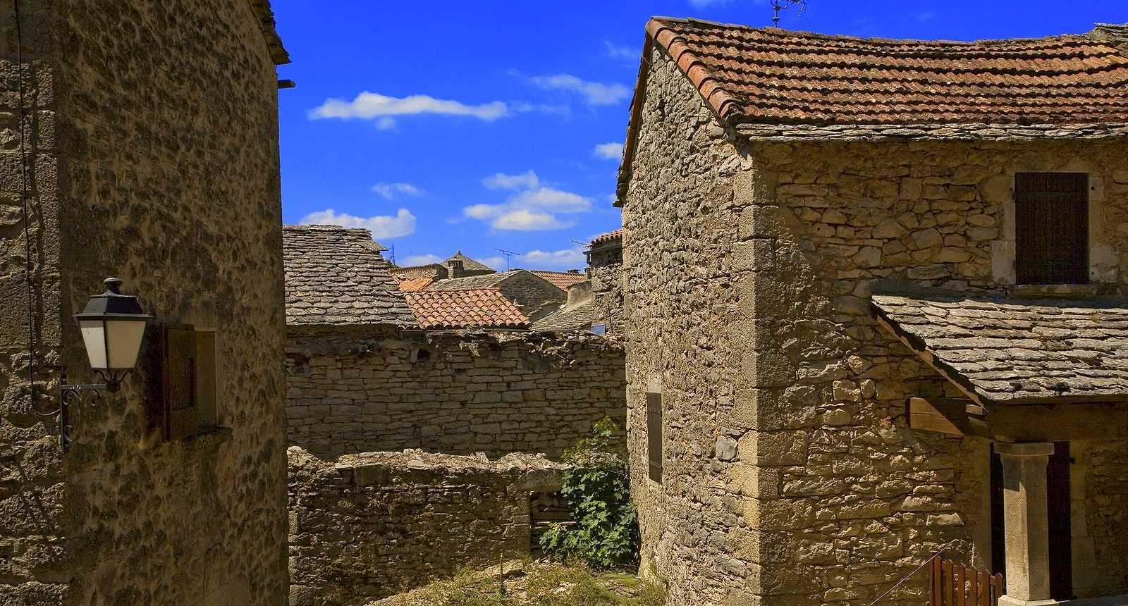 La ville médiévale de La Couvertoirade