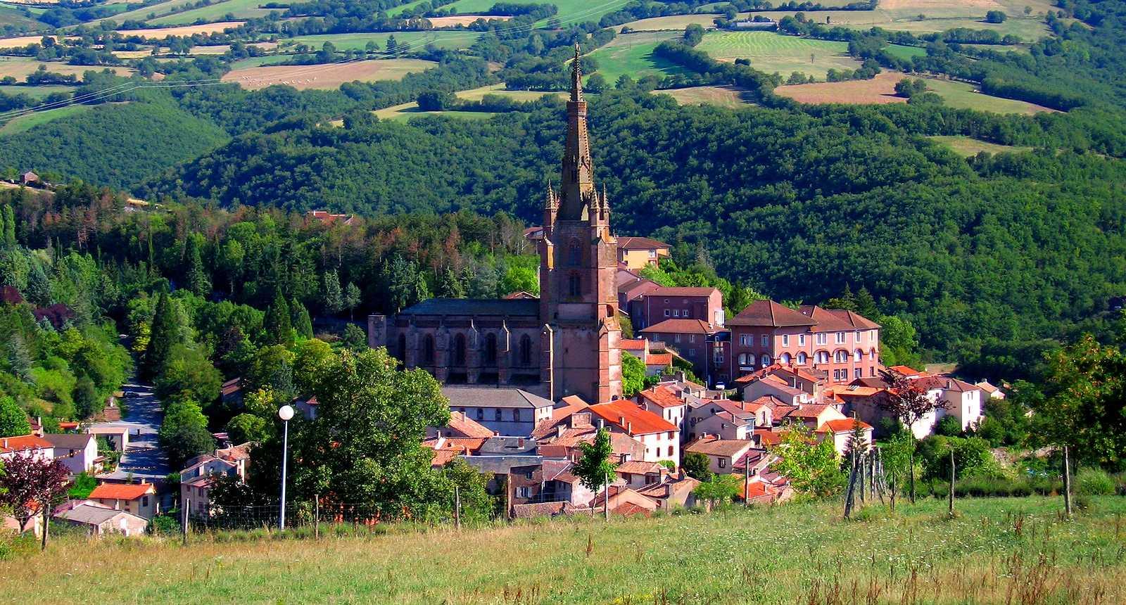 Le village de Belmont-sur-Rance