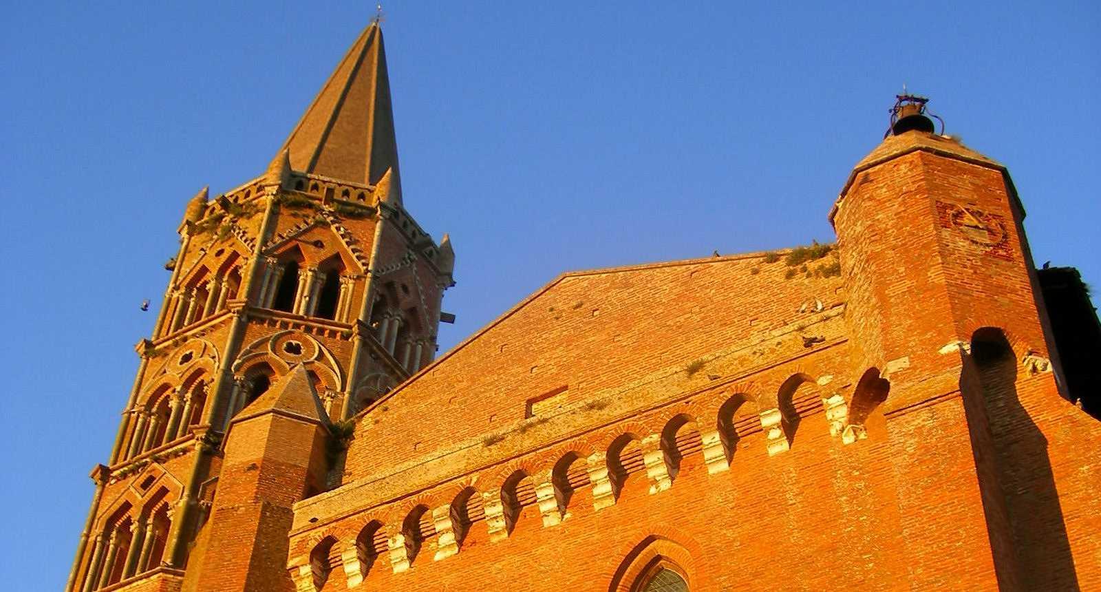 L'église Notre-Dame-de-l'Assomption à Beaumont-de-Lomagne