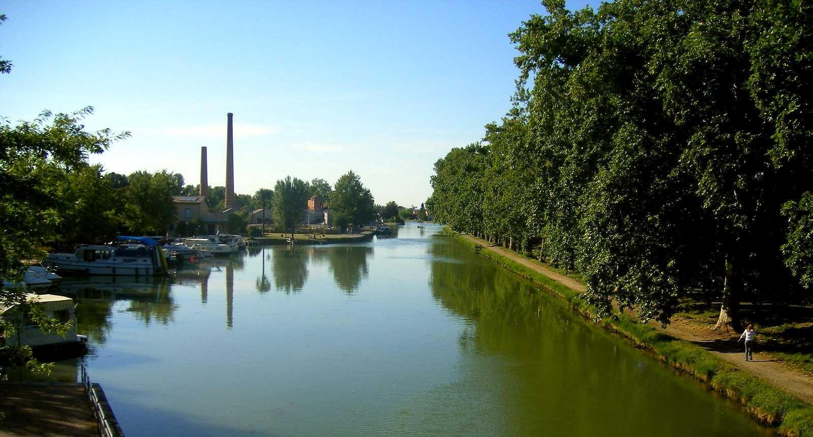 Le Canal du Midi à Montech