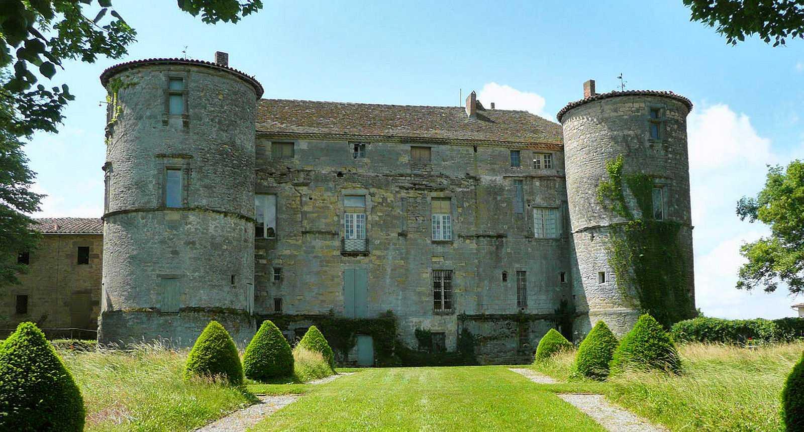 Ch teaux forts manoirs vestiges ruines haute for Haute garonne