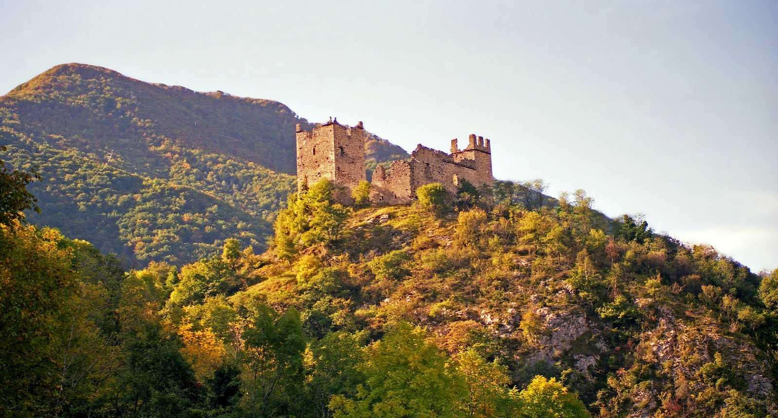 Les ruines du Château de Montségur