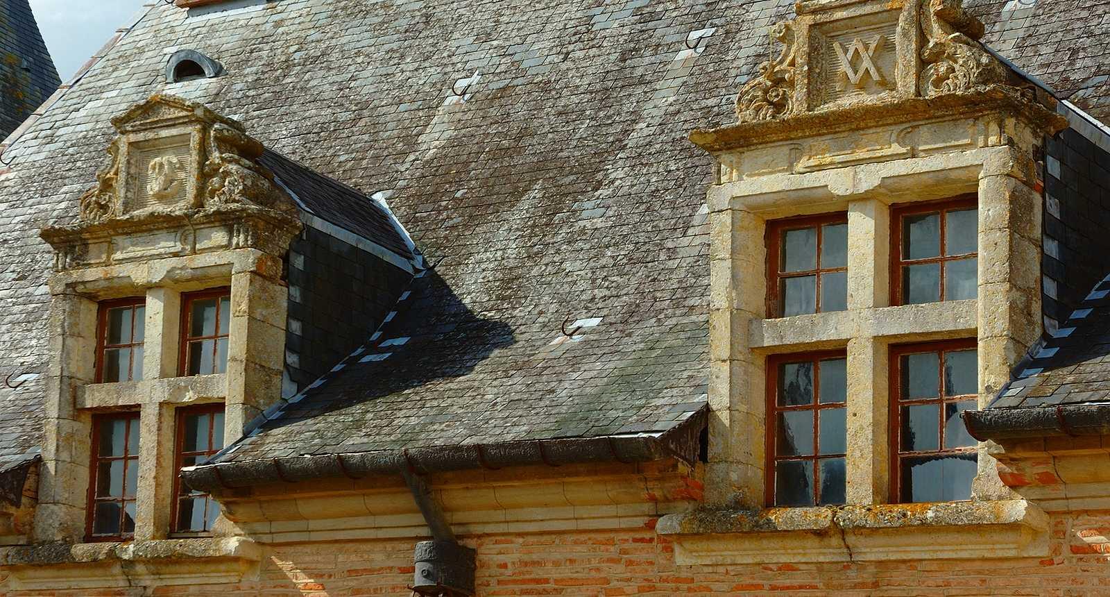 Les fenêtres Renaissance du Château de Caumont