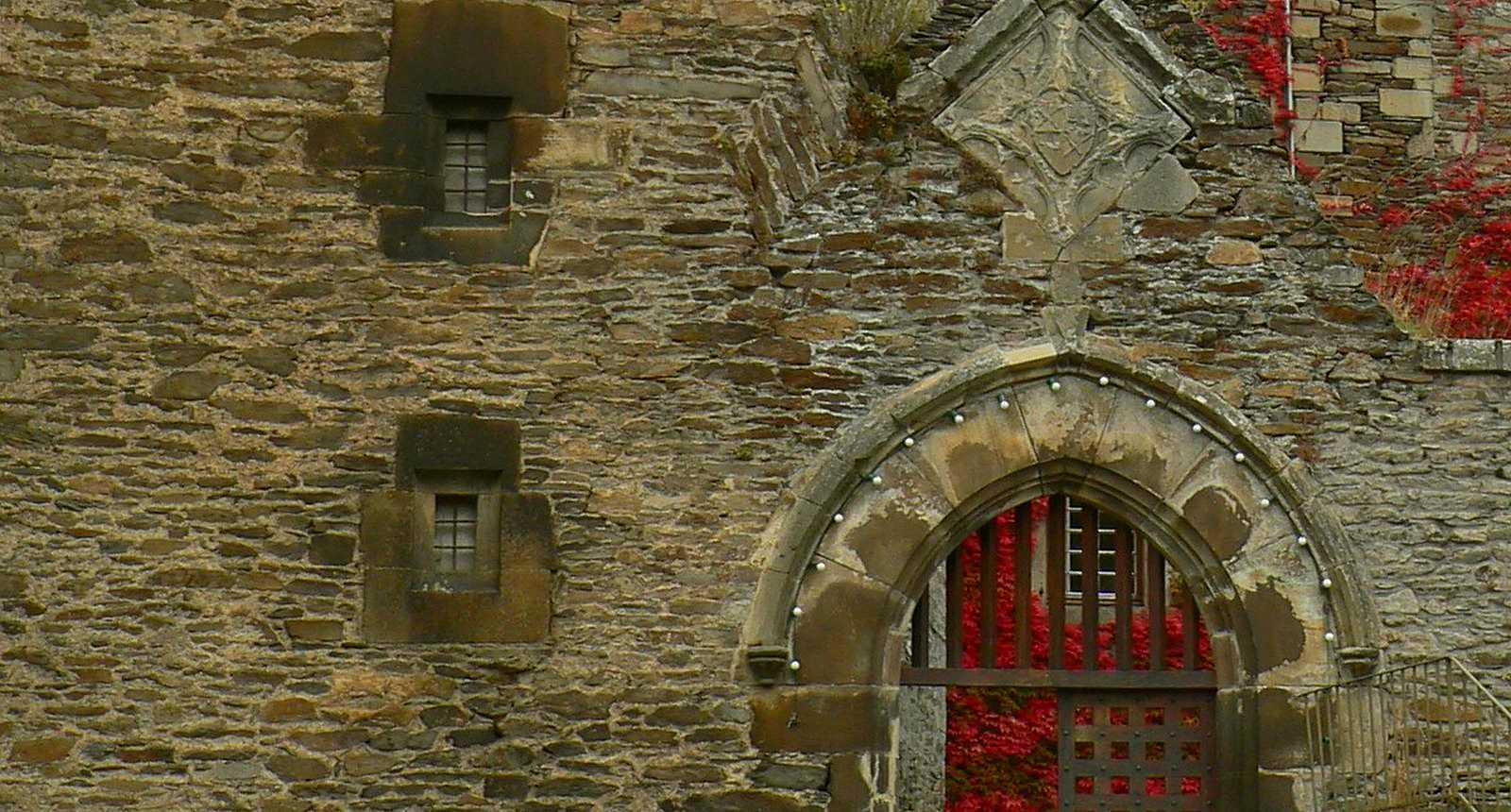 Porte du Château de Coupiac