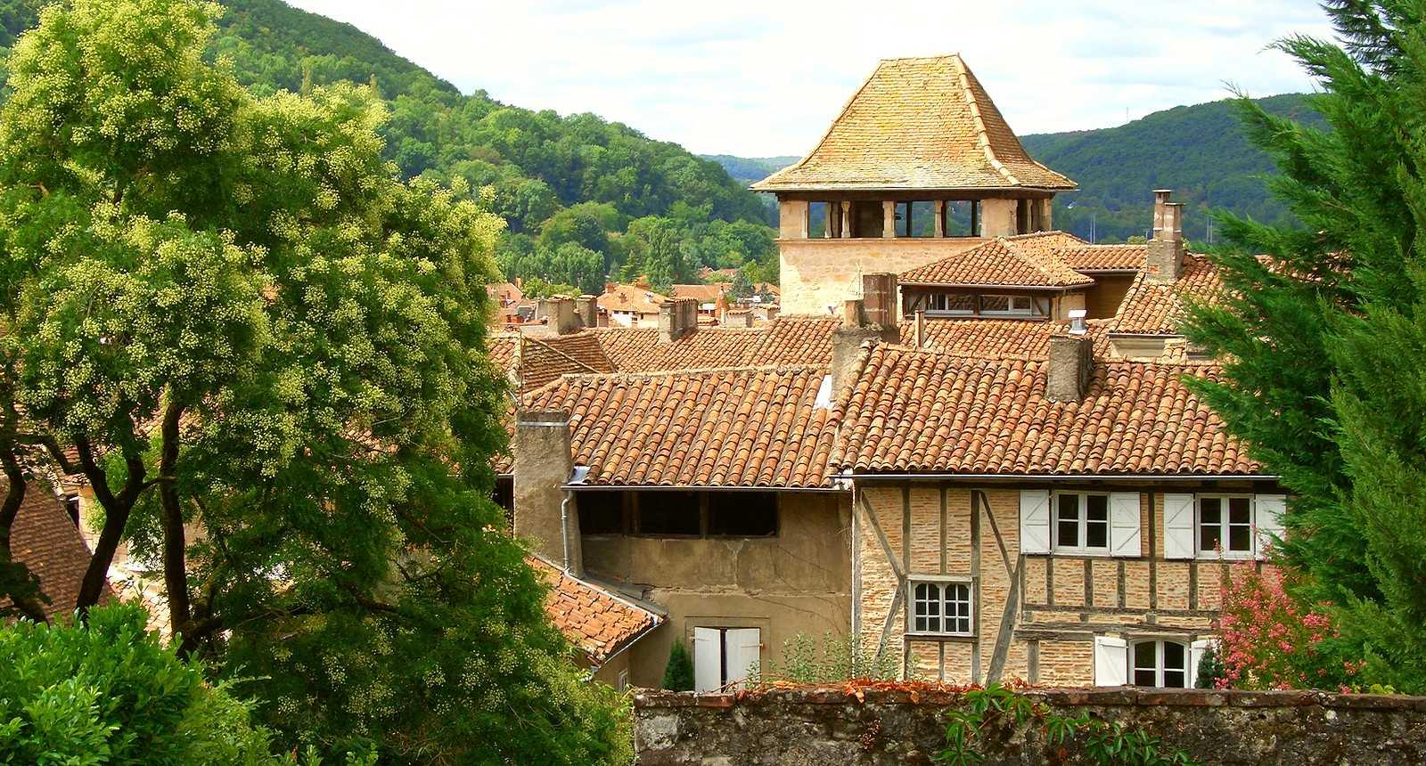 La cité médiévale de Figeac