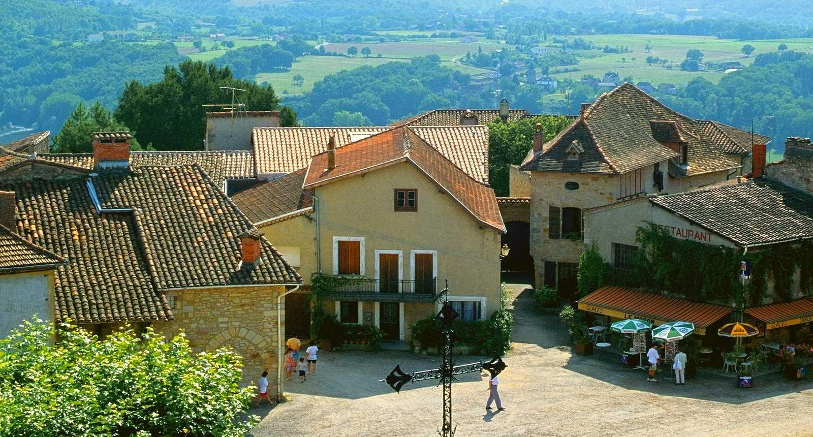 Le village de Capdenac