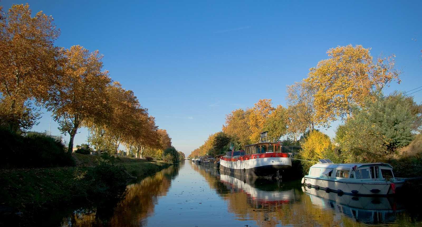 Le Canal du Midi à Toulouse (1)