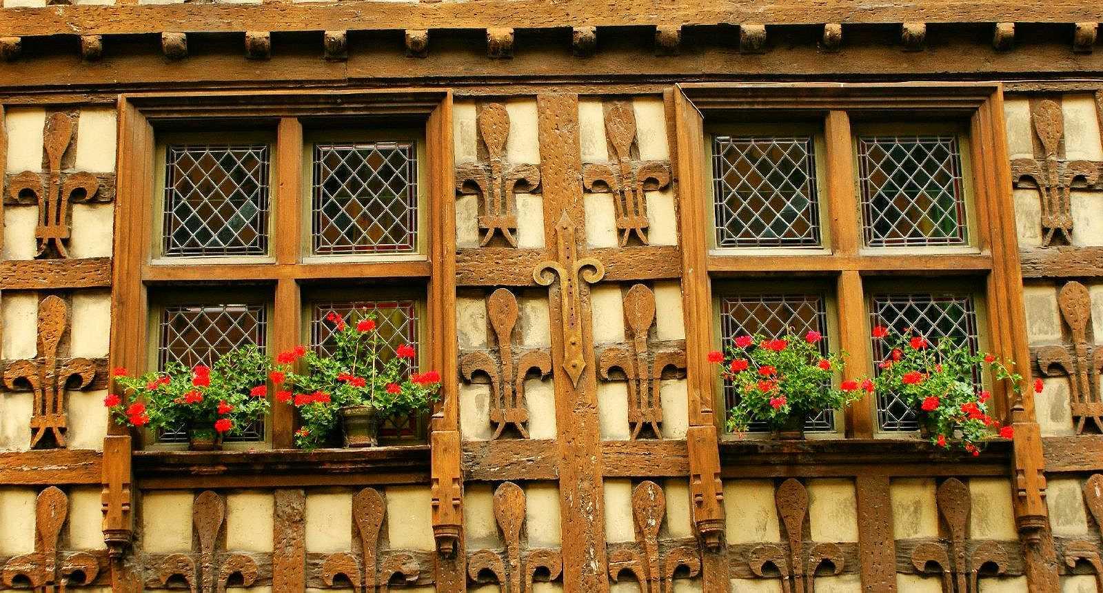 Belle façade à Arreau