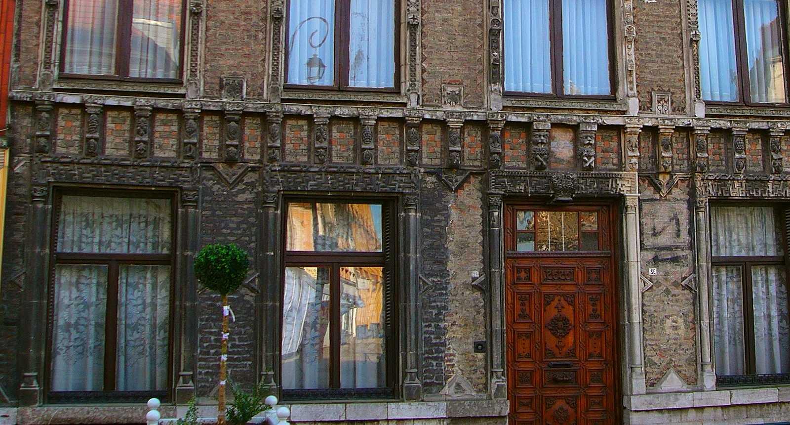 Jolie façade d'Aire-sur-la-Lys