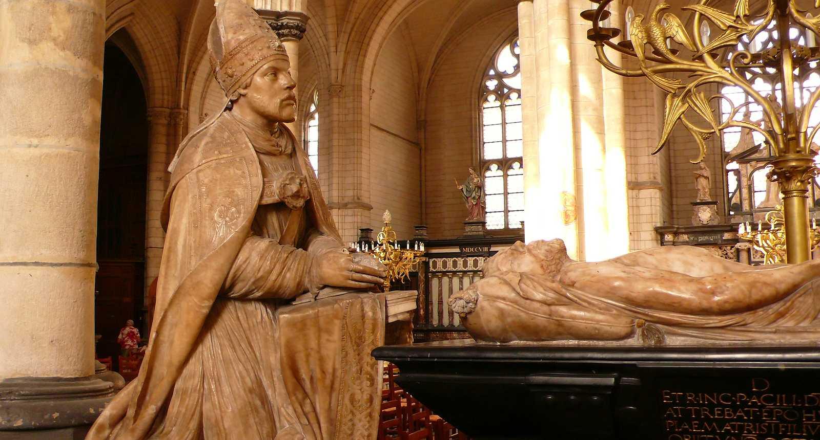 La Mise au tombeau de la Cathédrale Notre-Dame de Saint-Omer