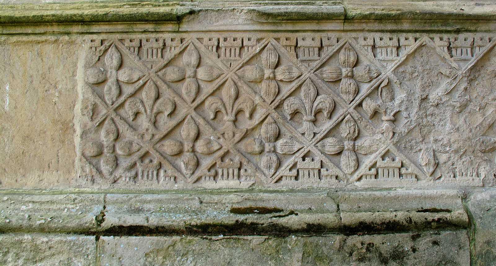 Détail sculpté de la Cathédrale Notre-Dame de Saint-Omer
