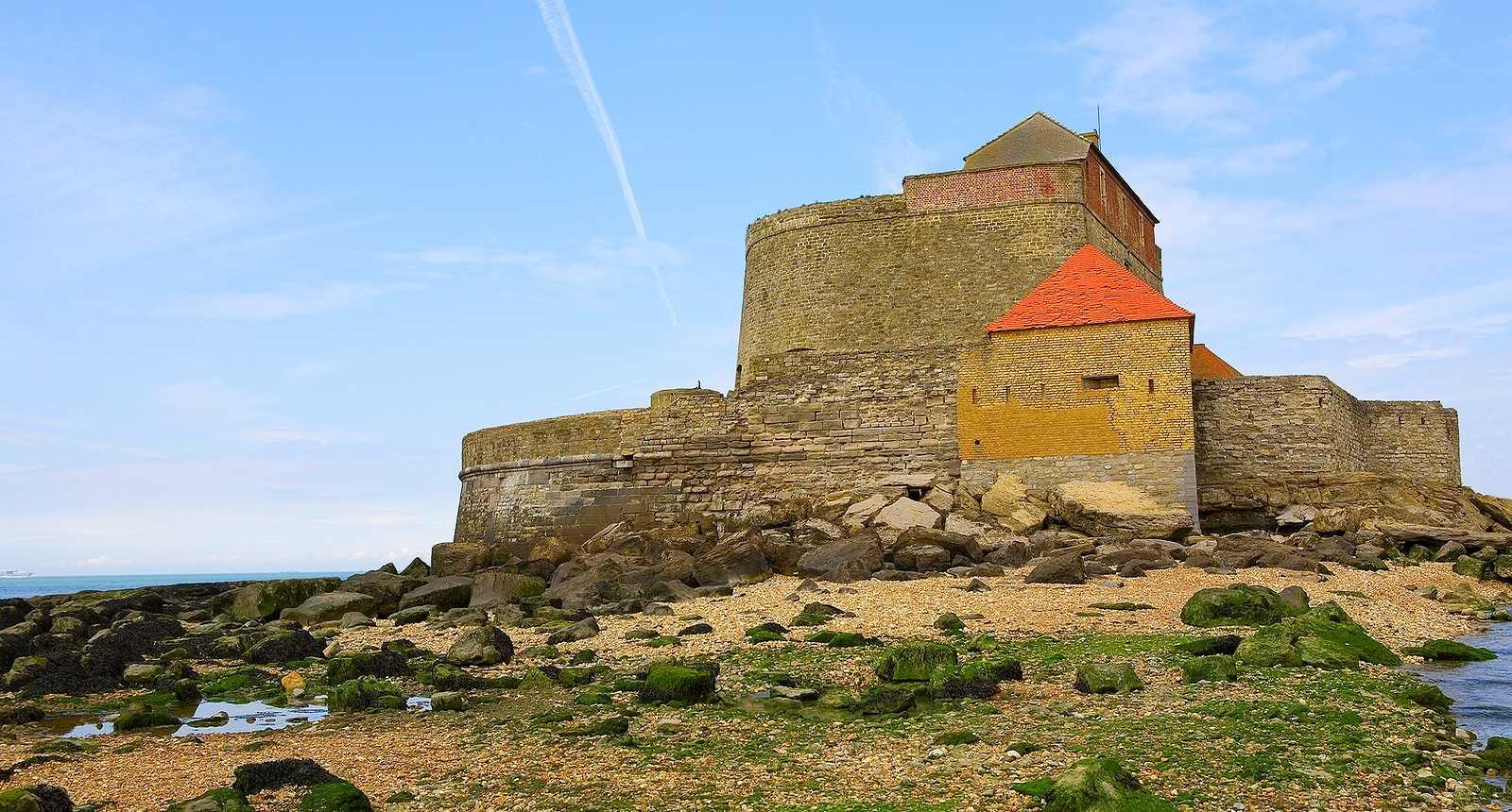 Le Fort Mahon, ou Fort Vauban à Ambleteuse