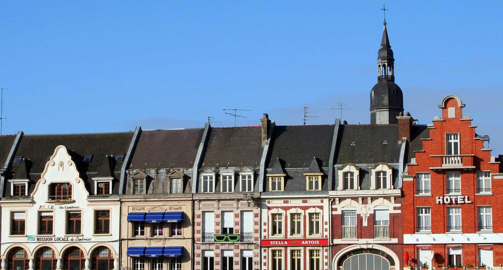 Les façades de Cambrai