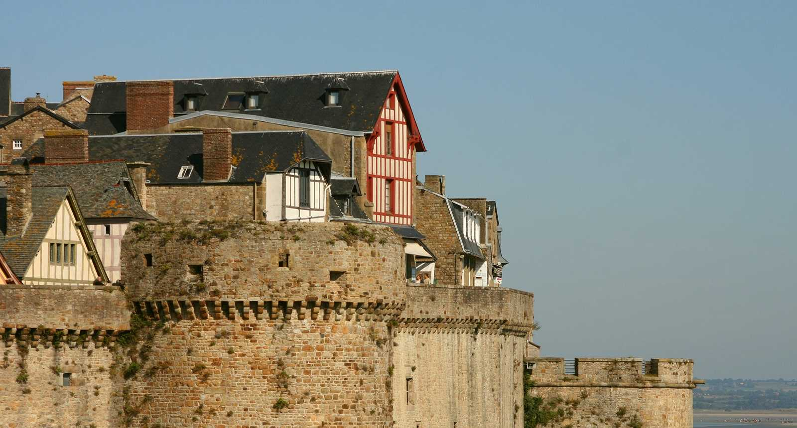 photo maisons du mont saint michel 2185 diaporamas. Black Bedroom Furniture Sets. Home Design Ideas