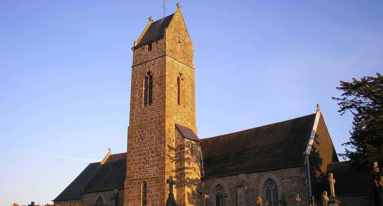 L'église Saint-Martin-de-Tallevende à Vire