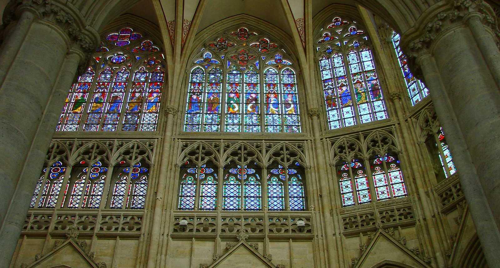 Vitraux de la Cathédrale Notre-Dame de Sées