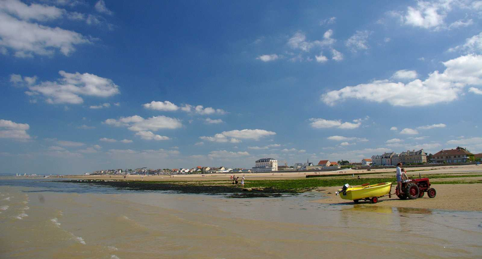 Photo plage de saint aubin sur mer 2220 diaporamas - Office de tourisme la plaine sur mer ...