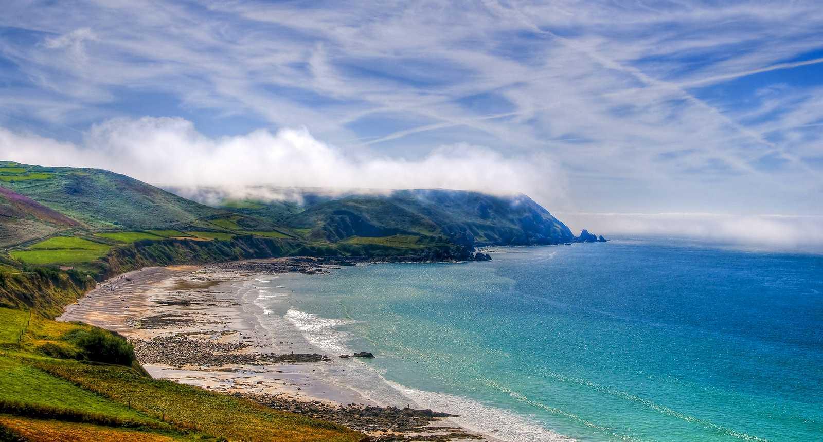 Panorama sur la Baie d'Ecalgrain