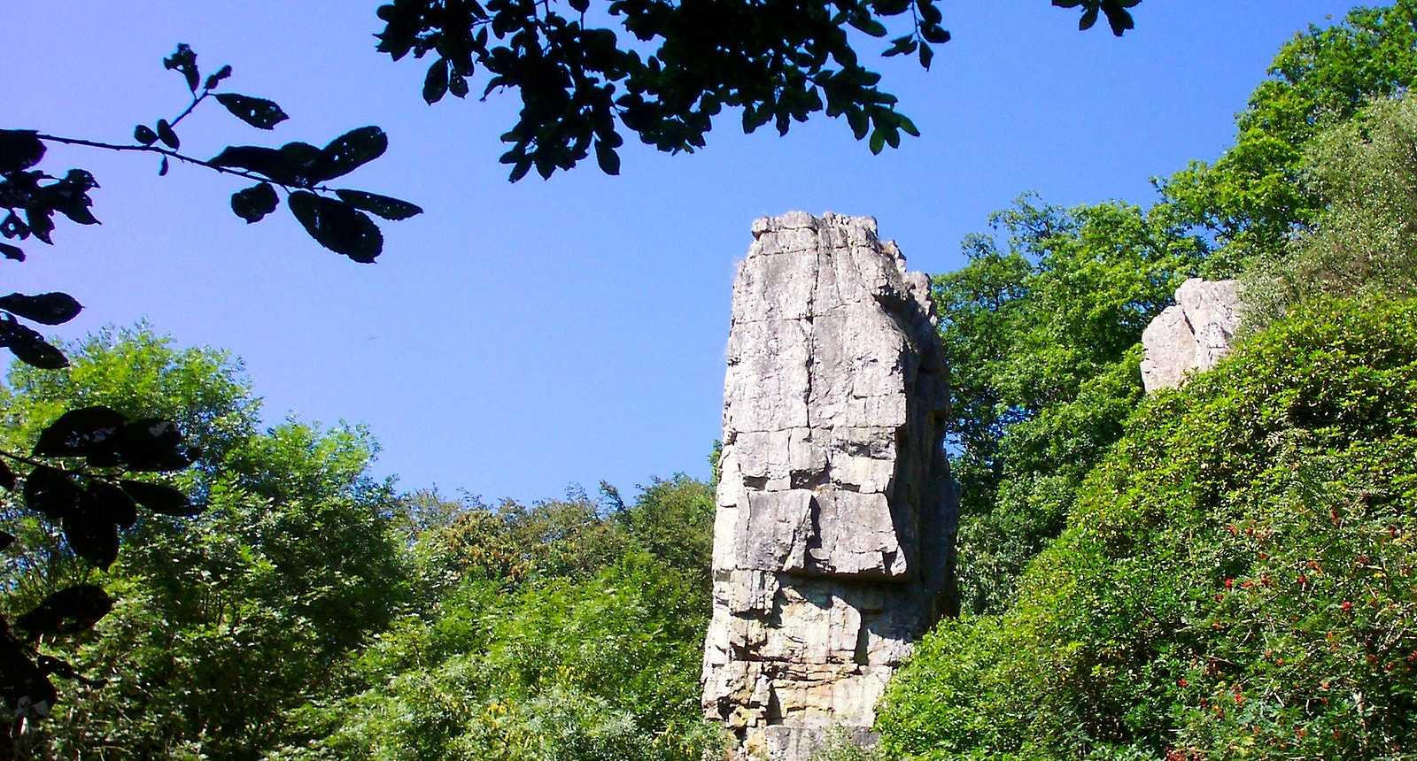 Le Rocher de l'Aiguille à Mortain