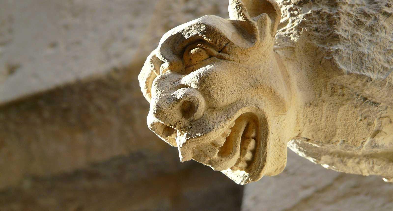 Gargouille de la Cathédrale Notre-Dame de Rouen