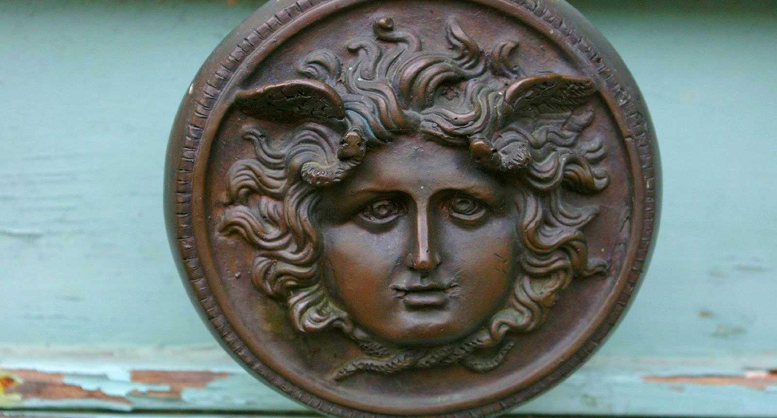 Bouton d'une porte de Mortagne-au-Perche