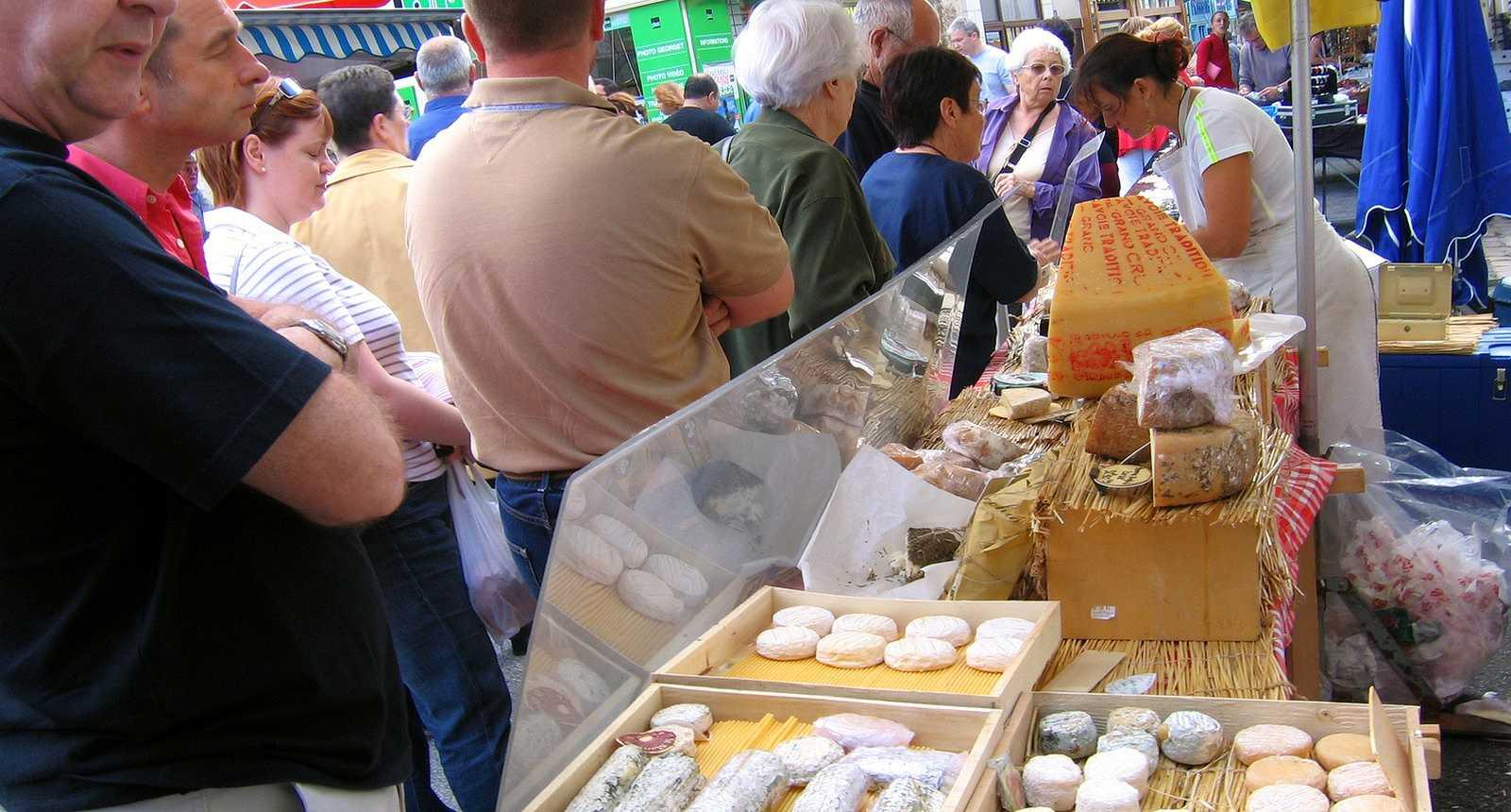 Le marché de Mortagne-au-Perche