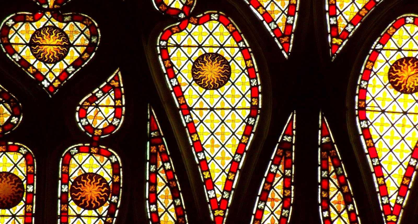 Vitrail de la Cathédrale Notre-Dame d'Evreux