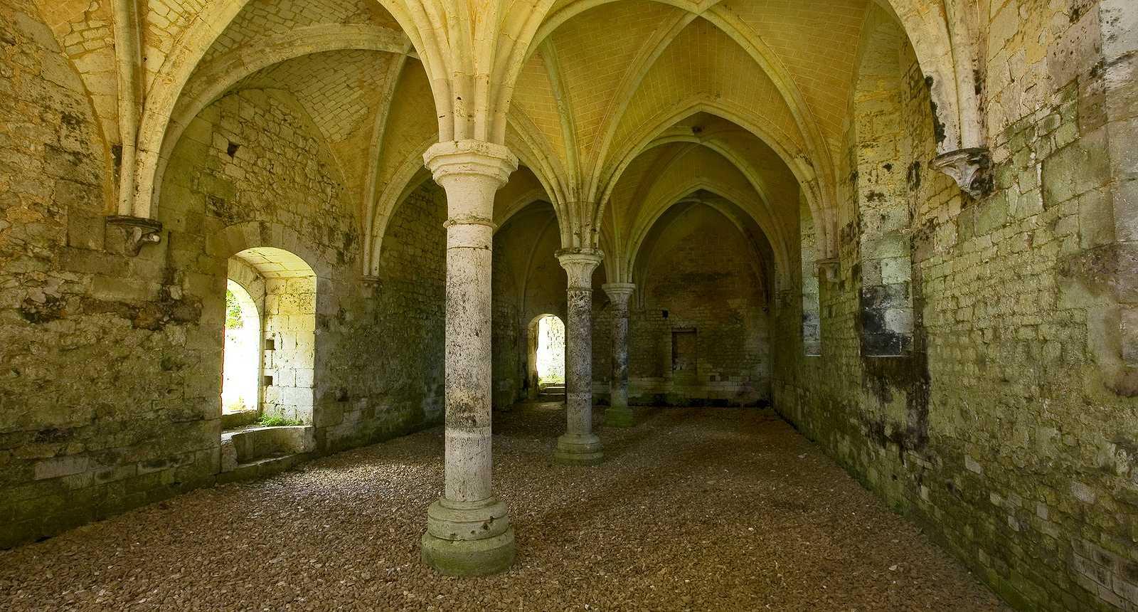 Image : Abbaye Notre-Dame de Fontaine-Guérard