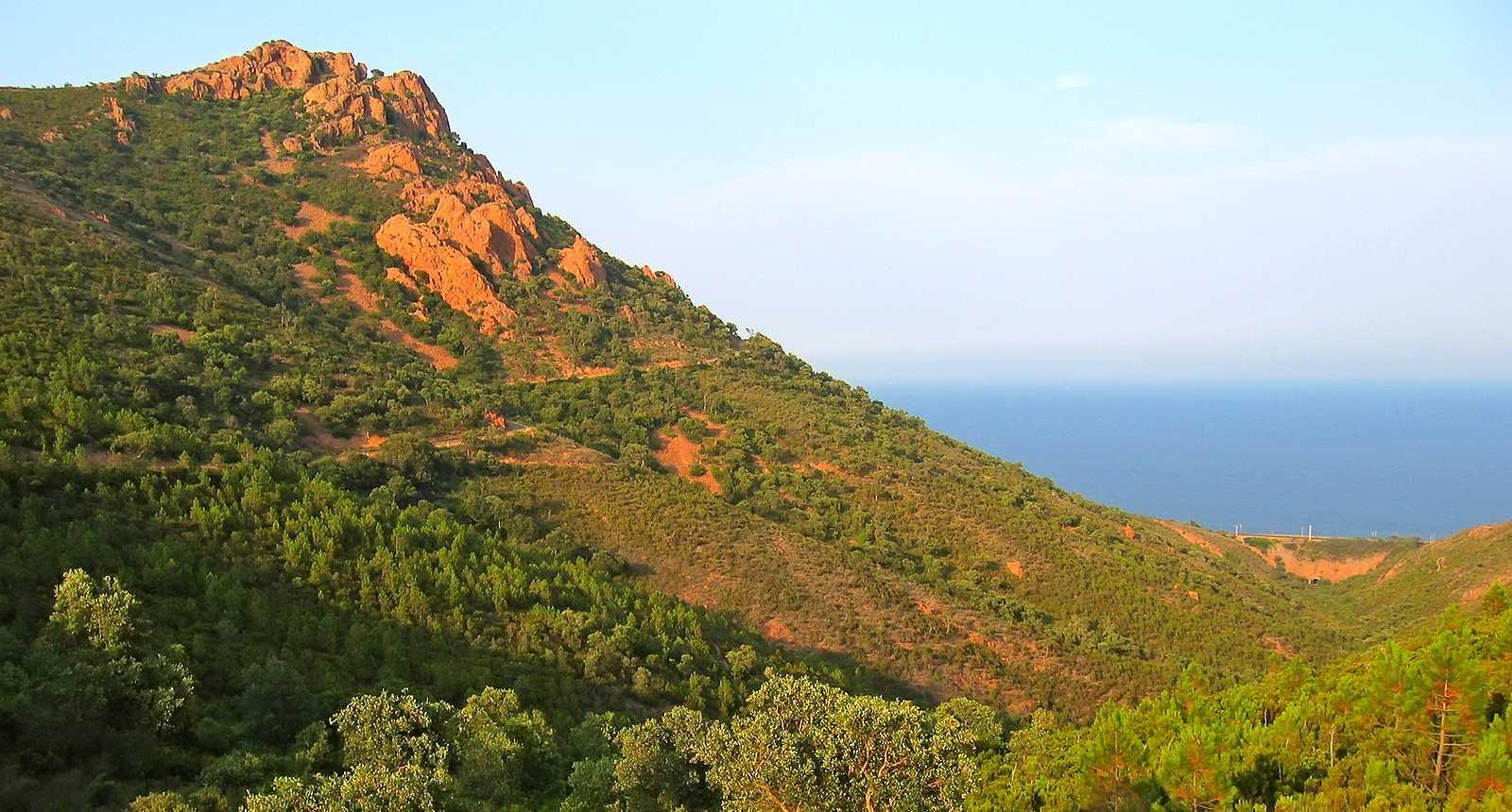 Le Massif et le Cap de l'Esterel