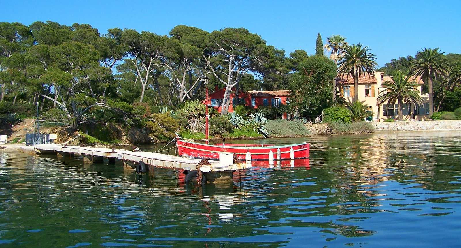 La Baie de Porquerolles, près de Hyères