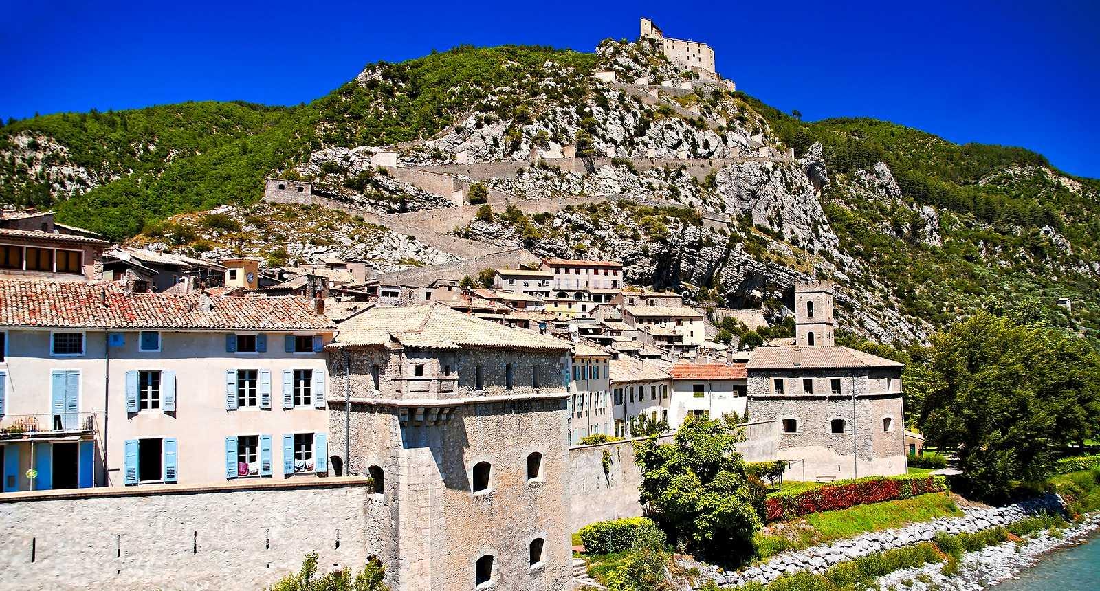 Le village médiéval d'Entrevaux