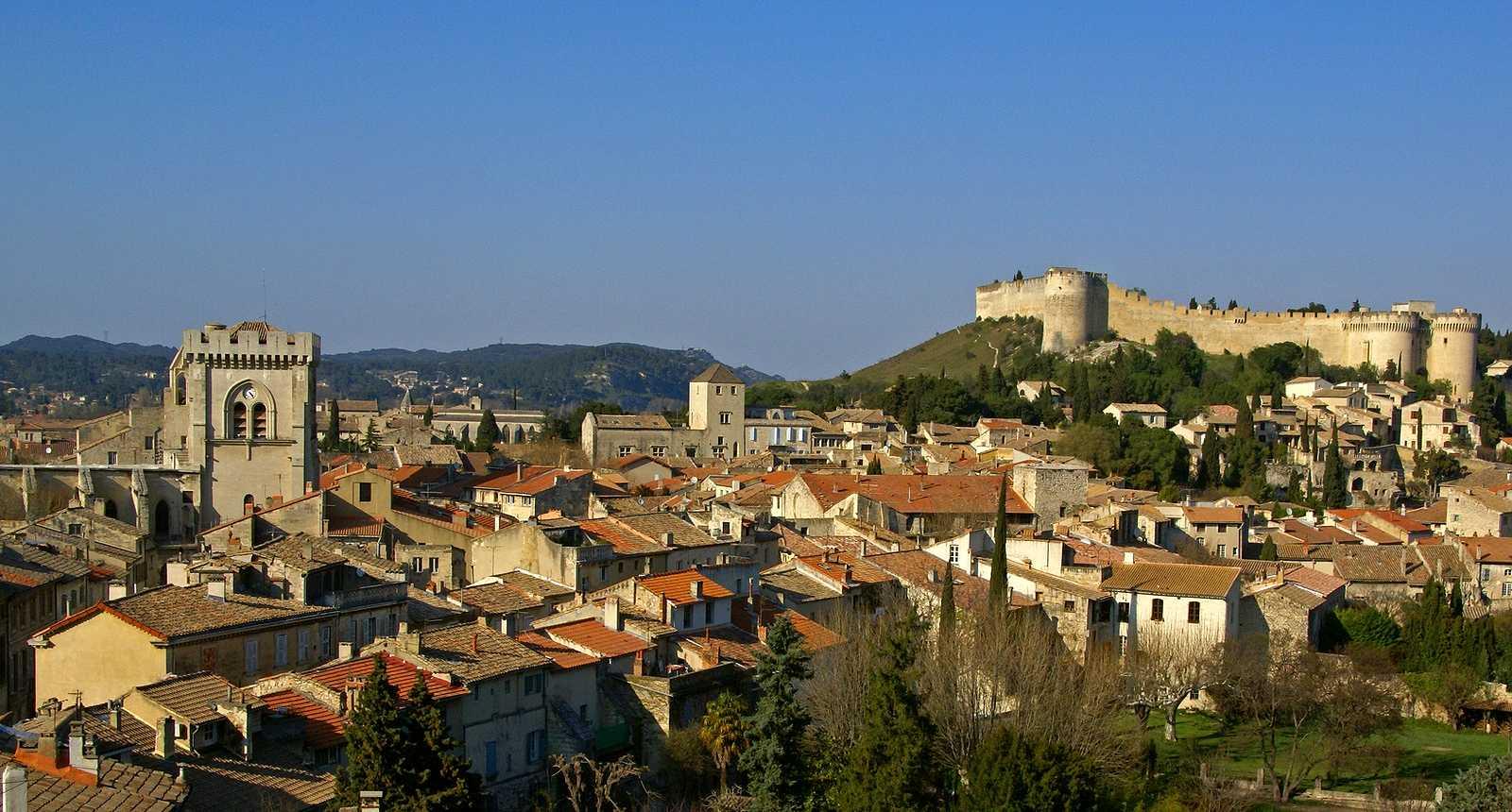 Panorama sur Villeneuve-lès-Avignon