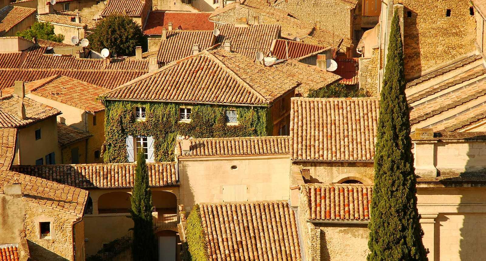Les toits de Bollène