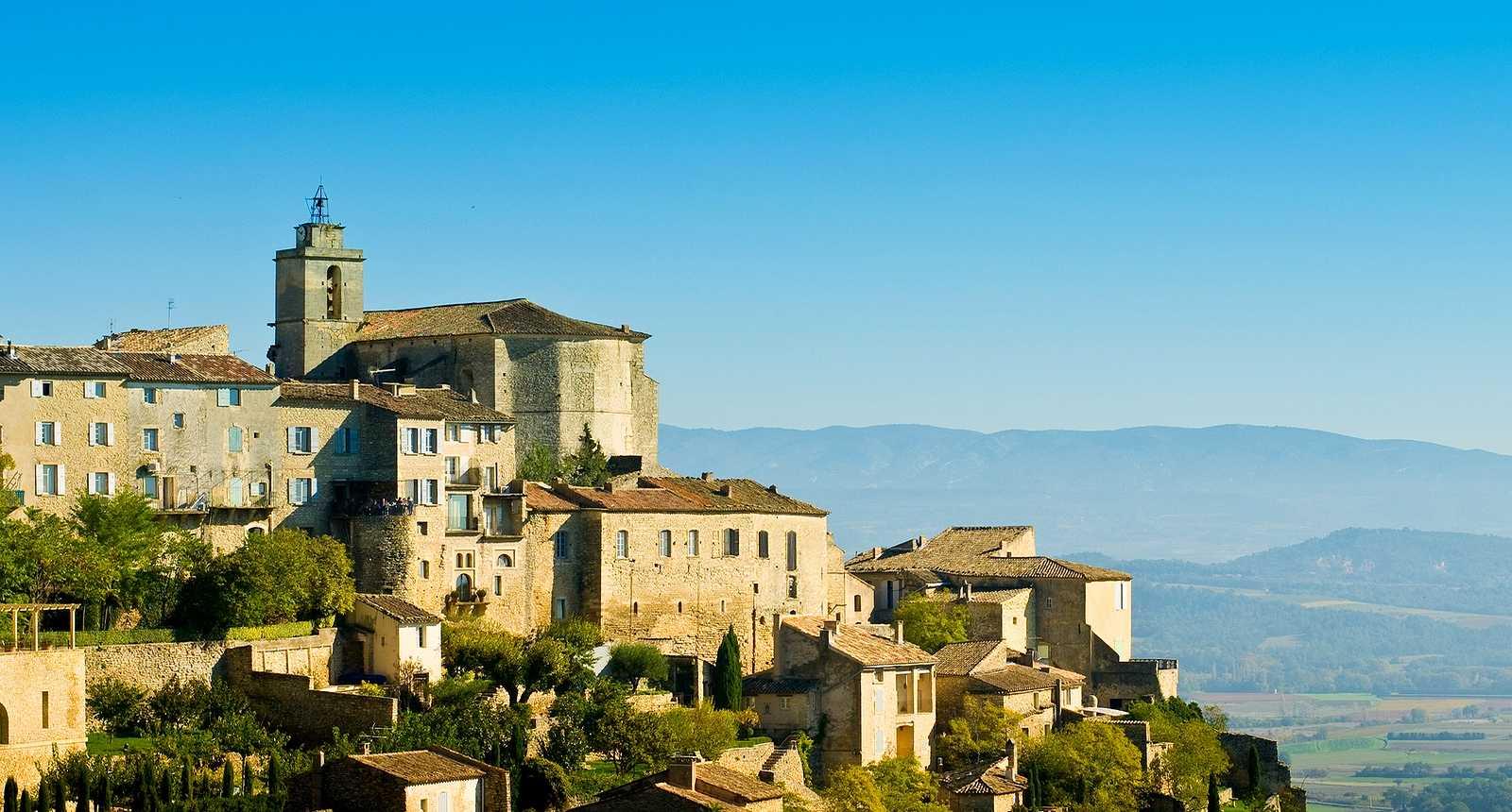 Eglise Saint-Firmin, Village de Gordes, Luberon