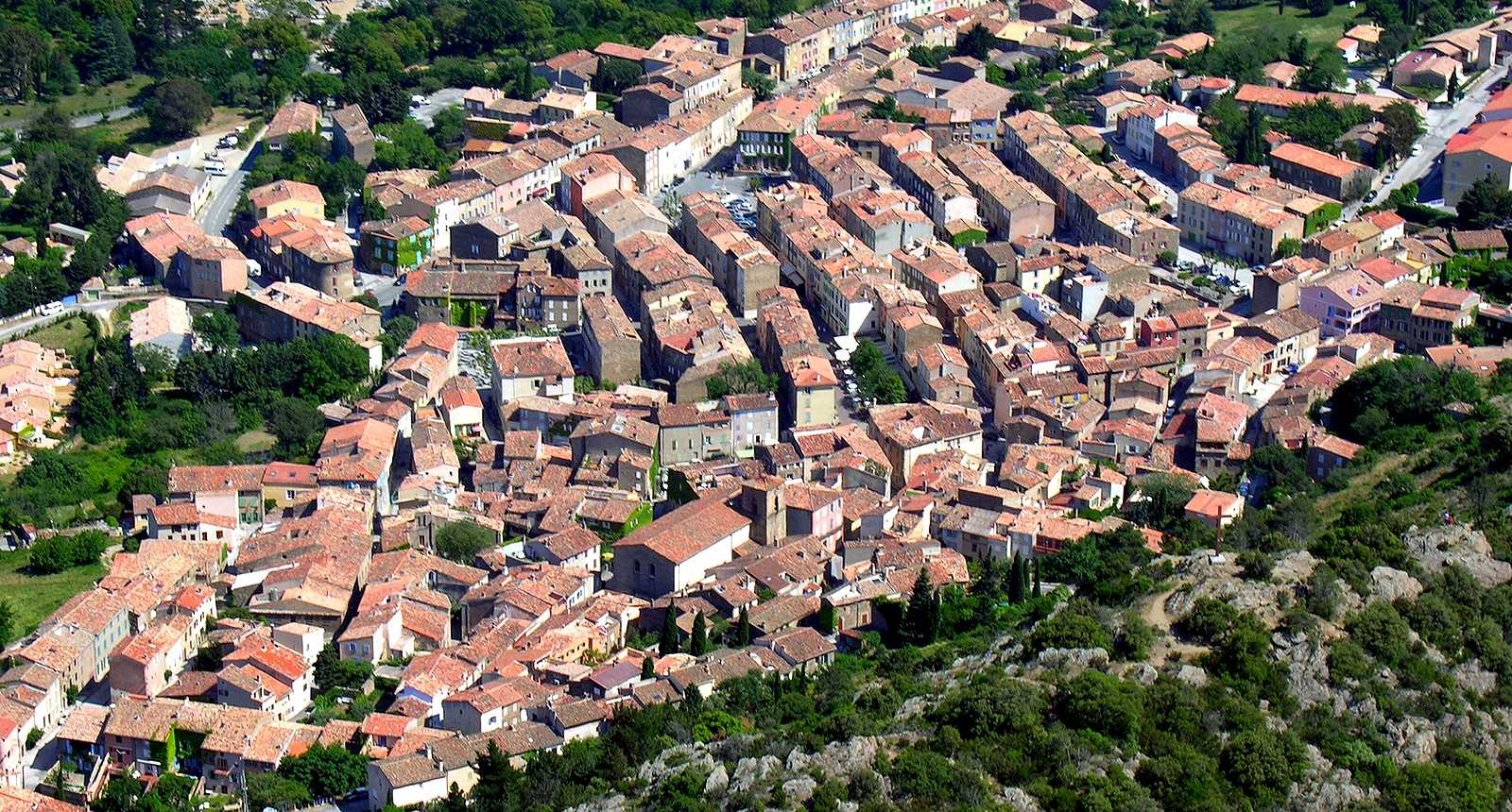 La Garde France  city photo : Photo Vue aérienne de La Garde Freinet 2567 Diaporamas, images ...