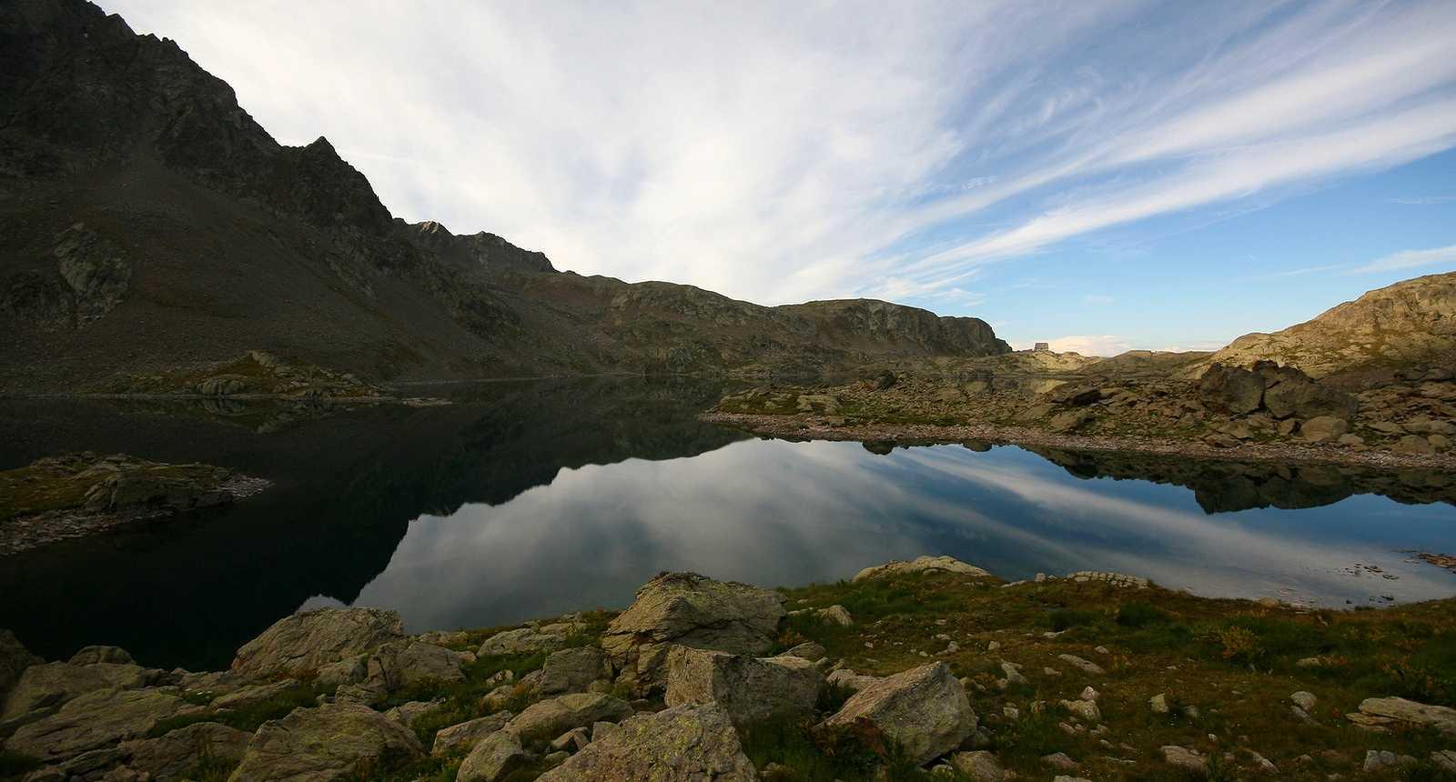Le Lac de Rabuons dans le Parc National du Mercantour