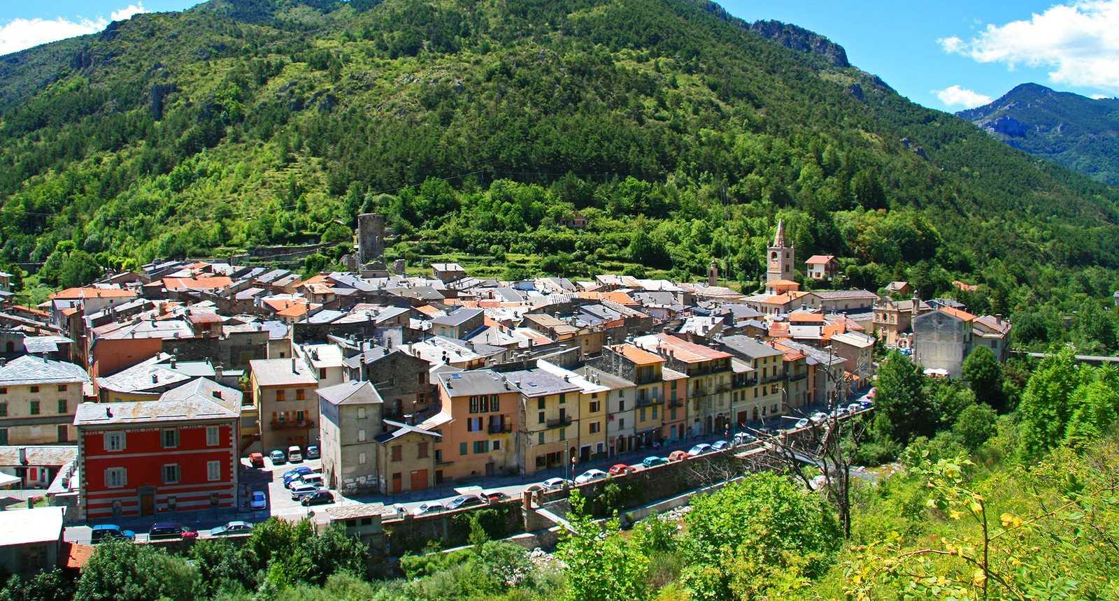 Le village de La Brigue