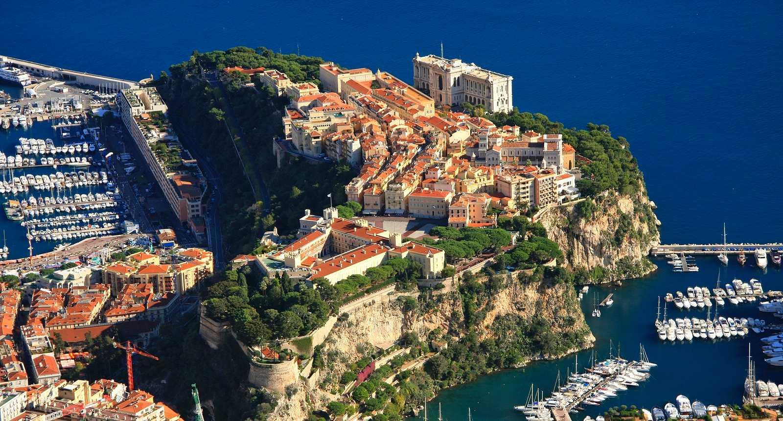 Le Rocher de Monaco et le Palais Princier