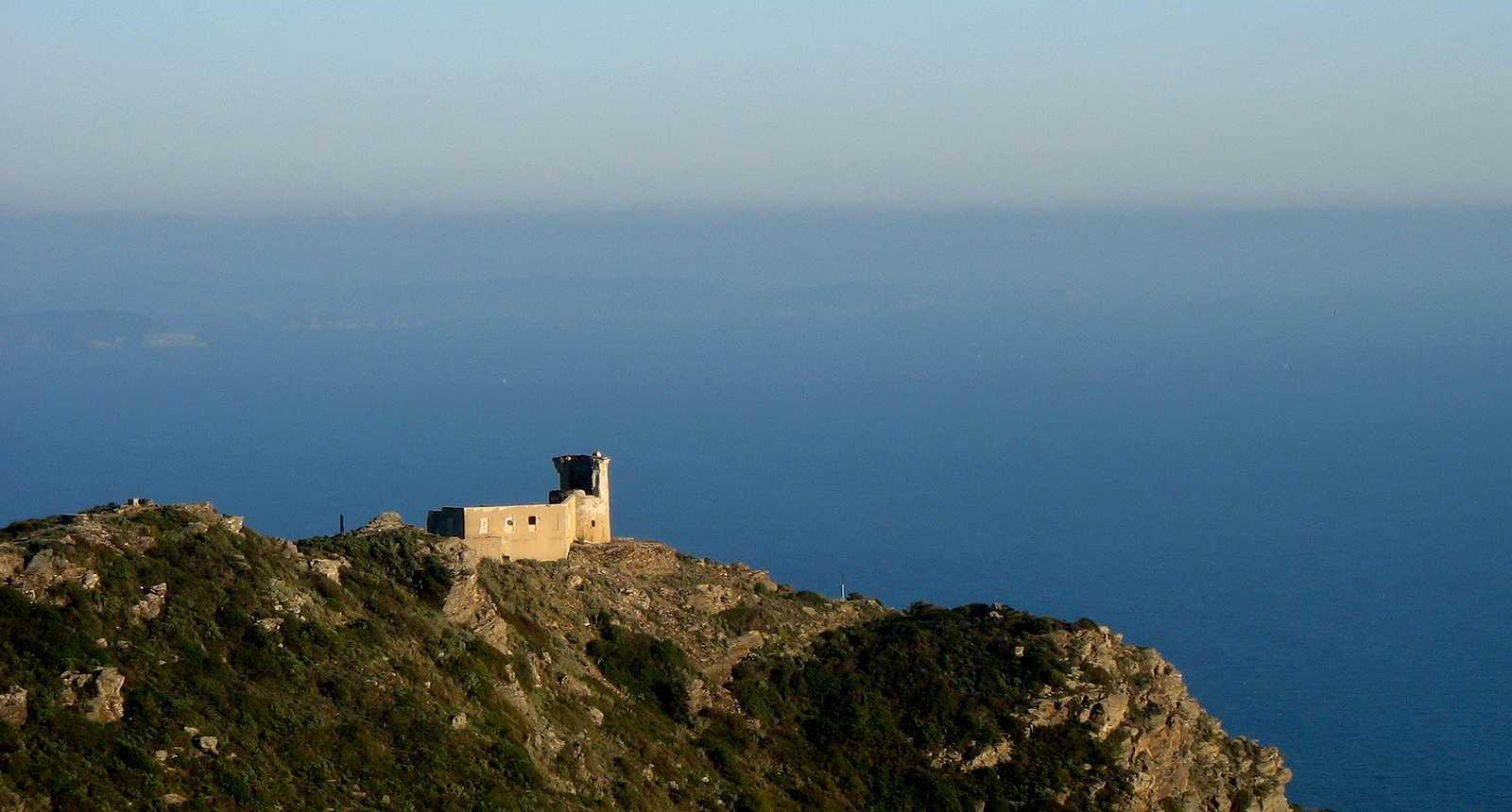 Vue sur le Cap Sicié