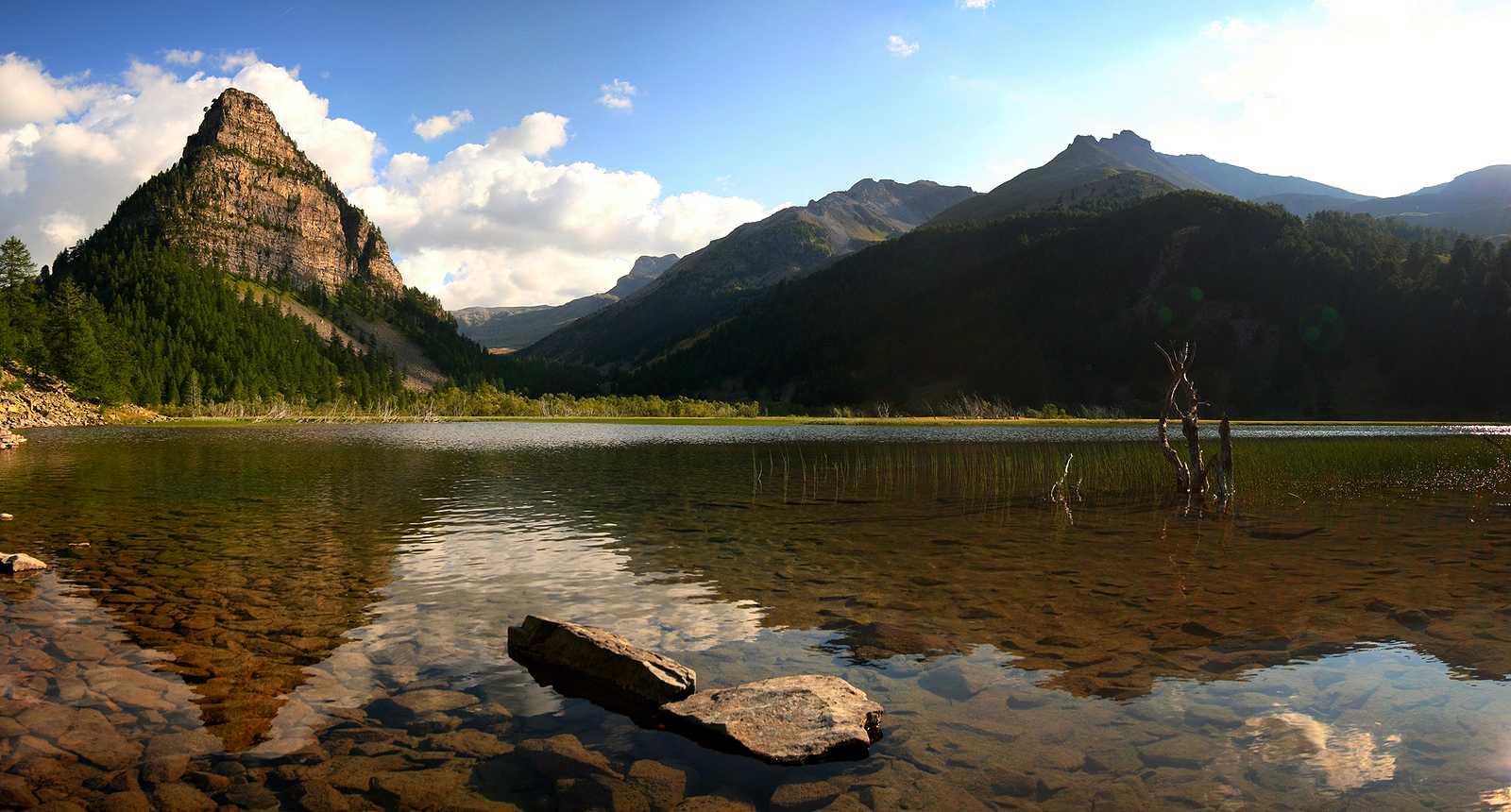 Lac de l'Ubaye, près de Valence