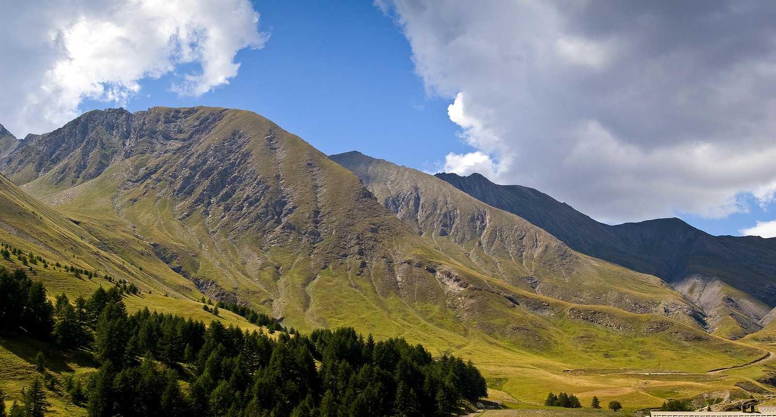 Alpages dans le Val d'Allos