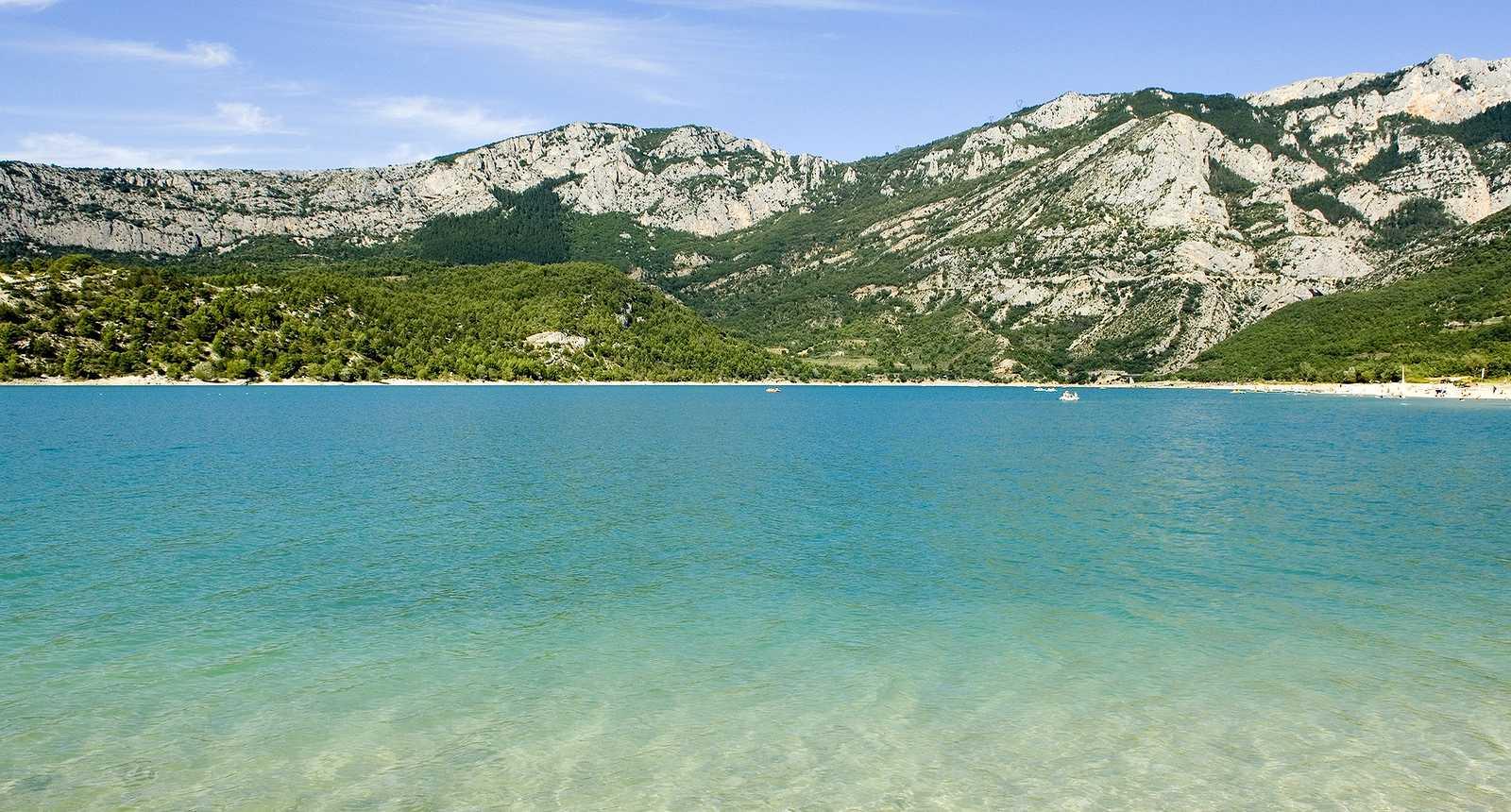 Le lac de Sainte-Croix  (1)